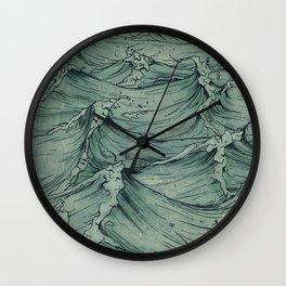 The Sailor's Sea Wall Clock