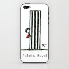 A Few Parisians: Palais Royal by David Cessac iPhone & iPod Skin