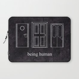 Being Human - Doors Laptop Sleeve