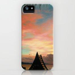 Red Ocean Sunset iPhone Case
