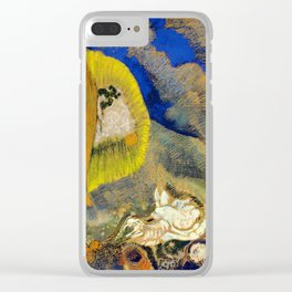 """Odilon Redon """"Vision sous-marine or Paysage sous-marin"""" Clear iPhone Case"""