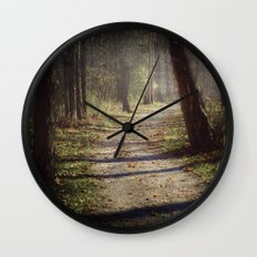 Wicked Woods Wall Clock