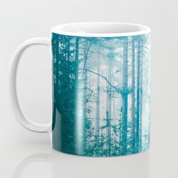 Peer Through The Trees Coffee Mug
