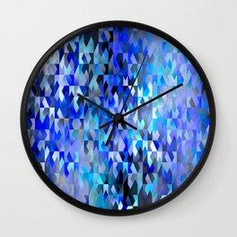 Keep Your Edge (blue) Wall Clock