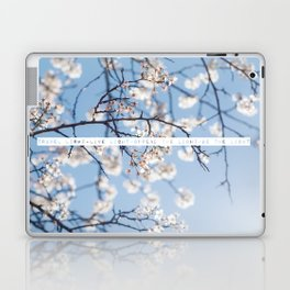 Travel Light, Live Light, Spread The Light, Be The Light Laptop & iPad Skin