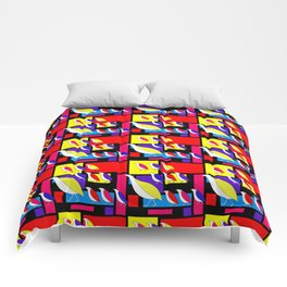 Partridge Parade Comforters