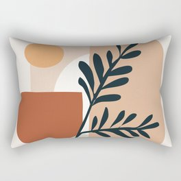Geometric Shapes Rectangular Pillow