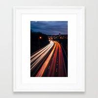 portlandia Framed Art Prints featuring Gateway to Portlandia by Djambel Unkov - KOV The Photographer