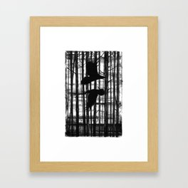 Hugin & Munin Framed Art Print