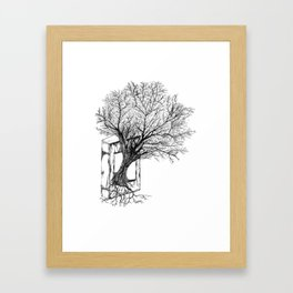 Replacing Nature with Knowledge Framed Art Print