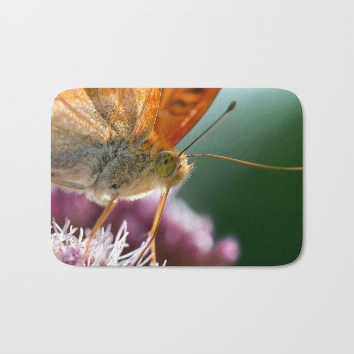 Butterfly macro 67 Bath Mat