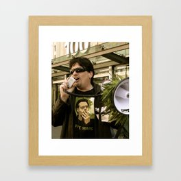 The King of Pot Framed Art Print
