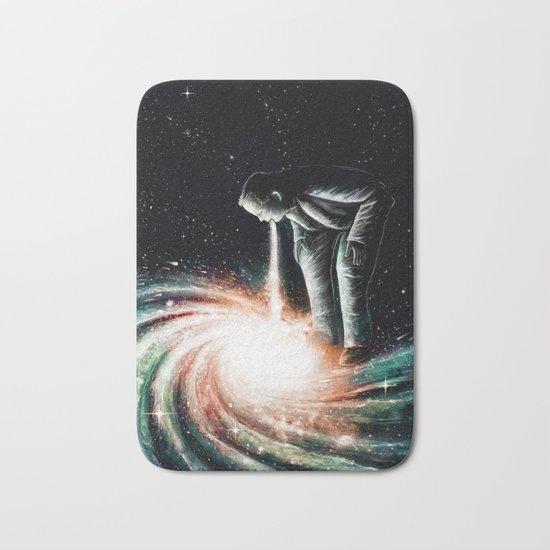 Cosmic Vomit Bath Mat