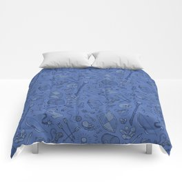 Inventory in Blue Comforters