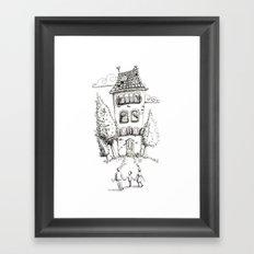 Big House Framed Art Print