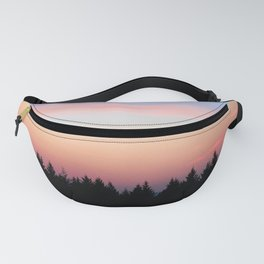 Wild Forest Sunset Fanny Pack