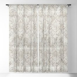Vintage Pattern 11902B Sheer Curtain