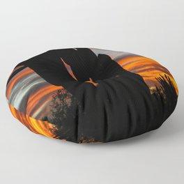 Sonoran Sunset #1 Floor Pillow