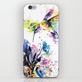 Hummingbird 2 iPhone Skin