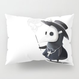 The little black Death Pillow Sham