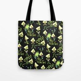 P-dot Pattern Tote Bag