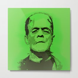Frankenstein's Monster Metal Print