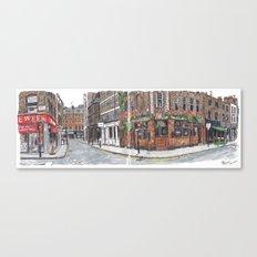 Berwick Street, London Canvas Print