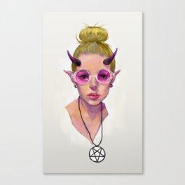 Monster Girl #3 Canvas Print