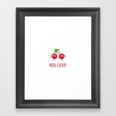 Mon Cherry Framed Art Print