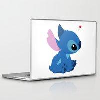 stitch Laptop & iPad Skins featuring Stitch by Stapanda