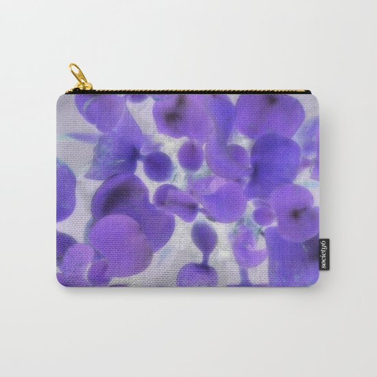 Flower | Flowers | Purple Water Plant Carry-All Pouch