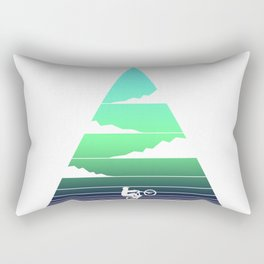 MTB retro Rectangular Pillow