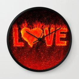 Hot Love Wall Clock