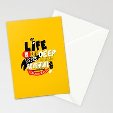 Life is for deep kisses... Stationery Cards