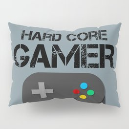 Game Console Black Joystick Pillow Sham