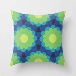 Groovilicious Throw Pillow