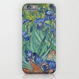 Irises, Vincent Van Gogh iPhone Case