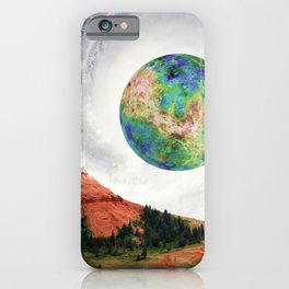 Rouge Planet iPhone Case