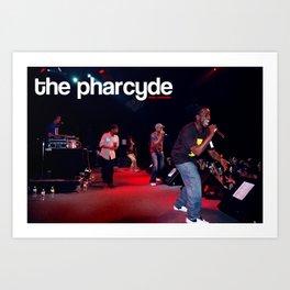 pharcyde live :::limited edition::: Art Print