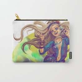 Hippie Girl Carry-All Pouch