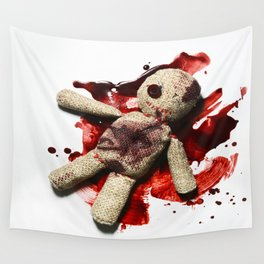 Bloody sack doll Wall Tapestry