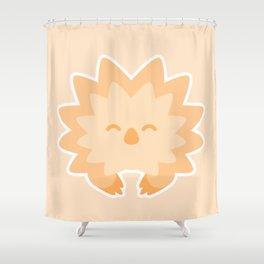 Spriton the Echidna! Shower Curtain