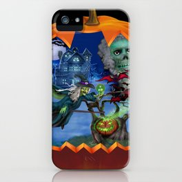 Witch's Magic Spell iPhone Case