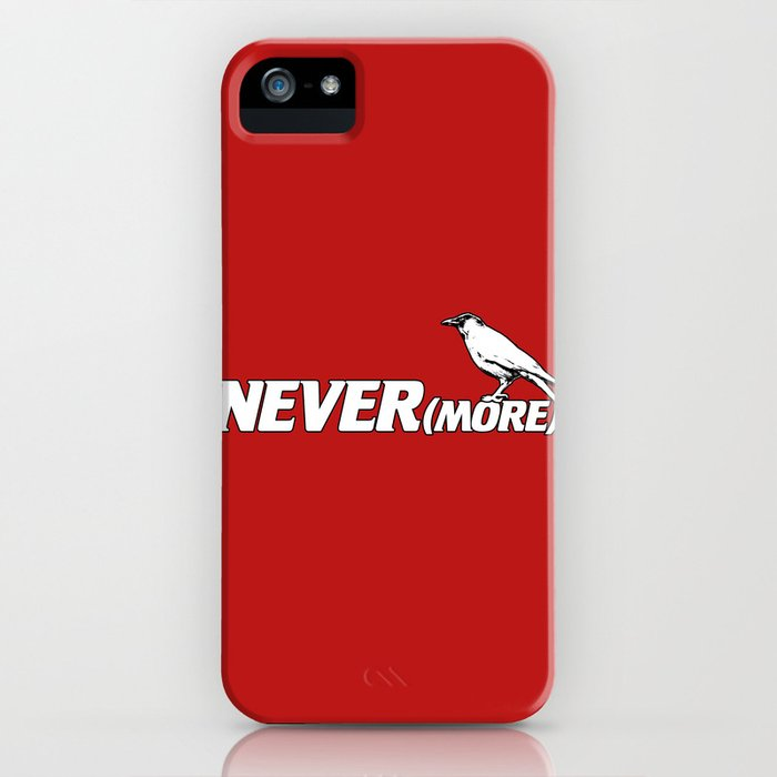 NEVER(more) iPhone Case