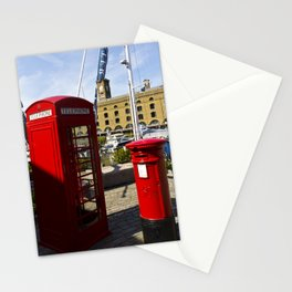 Phone and Post Box Stationery Cards