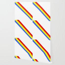 Flag of romania 4 -romania,romanian,balkan,bucharest,danube,romani,romana,bucuresti Wallpaper