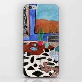 Mid Century Desert Home iPhone Skin