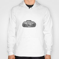 radio Hoodies featuring Radio by Rachel Zaagman