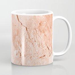 Moon Rock in Coral Coffee Mug