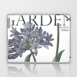 Victoria's Garden, feat. Agapanthus Umbellatus, Magazine Cover Laptop & iPad Skin